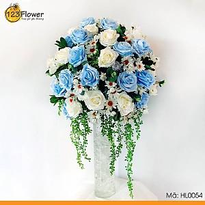 Hoa lụa 54