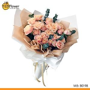 B0198 | Bó hoa 198