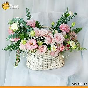 Giỏ hoa 117