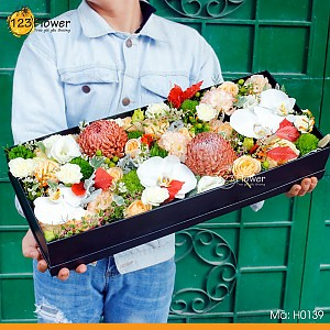 Hộp hoa 139