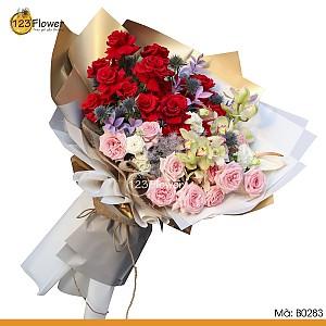 Bó hoa 283