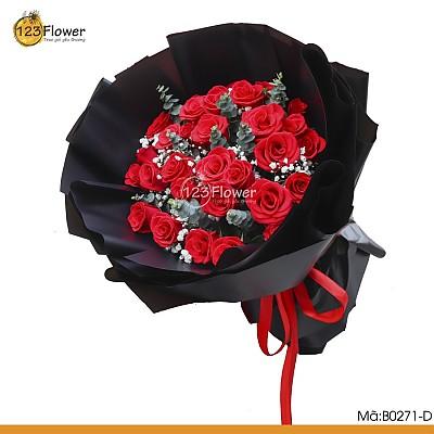 Bó hoa B0271-D