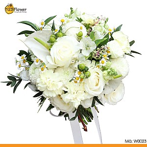 W0023 | Hoa cưới 23