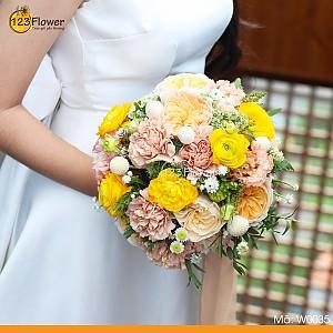 W0035 | Hoa cưới 35