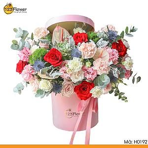 H0192   Hộp hoa 192